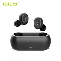 1340.31 руб. 75% СКИДКА|QCY QS1 T1C мини двойной V5.0 Bluetooth наушники True Беспроводной гарнитуры 3D звук стерео, наушники двойной микрофон с загрузочной коробки купить на AliExpress