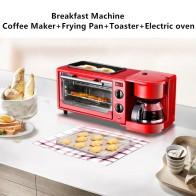 2615.62 руб. 20% СКИДКА|3 в 1 домашний завтрак деталь для кофемашины сковорода хлеб тостер Электрическая Духовка Хлебопекарная машина-in Изготовители завтрака 3-в-1 from Техника для дома on Aliexpress.com | Alibaba Group