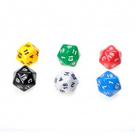 94.33 руб. 21% СКИДКА|6 компл. D20 кости двадцать Гранник RPG D & D шесть непрозрачные Цвета нескольких Смола многогранных для многогранные игральные кубики Поп для игры купить на AliExpress