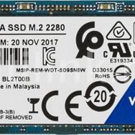 SSD накопитель WD Blue WDS500G2B0B 500Гб
