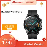 В наличии глобальная версия HUAWEI Watch GT 2 GT2 gps 14 дней работы водонепроницаемый телефон смарт звонки трекер сердечного ритма для Android iOS-in Смарт-часы from Электроника on AliExpress