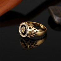 Lion Head Finger Rings Classic Men