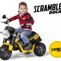 Детский трицикл Peg Perego Scrambler Ducati IGED0920 - Детские электромобили