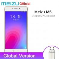 6507.9 руб. |Официальная глобальная версия Meizu M6 2 ГБ Оперативная память 16 ГБ Встроенная память мобильного телефона MTK 6750 восемь ядер 5,2