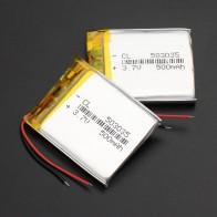 288.48 руб. 46% СКИДКА|1/2/4 шт. 503035 3,7 В 500 мАч литий полимерная батарея 3 7 В вольт ли бо ионный заряжаемые аккумуляторы lipo для dvd gps навигации-in Подзаряжаемые батареи from Бытовая электроника on Aliexpress.com | Alibaba Group
