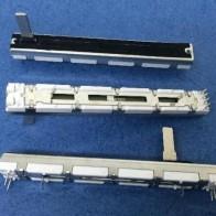 1363.01 руб. |[VK] для MG166CX USB 75 мм A20Kx2 A20K A203 Yamaha ход 60 мм двойной миксер потенциометр микшера ползунковый переключатель ручка 15 мм белый купить на AliExpress