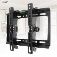 25 кг 14 42 дюймов регулируемый стальной настенный кронштейн для телевизора плоская панель ТВ рамка поддержка 15 градусов угол наклона для телевизора lcd СВЕТОДИОДНЫЙ монитор-in Крепление для ТВ from Бытовая электроника on AliExpress