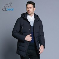 4662.7 руб. 61% СКИДКА|ICEbear 2018 Новая зимняя мужская куртка с высоким качеством ткани Съемная шляпа для Мужская теплая куртка простые мужские пальто MWD18945D-in Парки from Мужская одежда on Aliexpress.com | Alibaba Group
