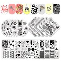 67.36 руб. 11% СКИДКА|UR SUGAR дизайн ногтей шаблон кошка цветок изображения наклейки на ногти DIY Круглый квадратный прямоугольник штамп пластины инструменты для ногтей-in Шаблоны для дизайна ногтей from Красота и здоровье on Aliexpress.com | Alibaba Group