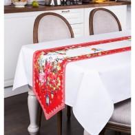 Купить Дорожка на стол торжество 40х220 с углом Santalino (850-709-31) по низкой цене с доставкой из Яндекс.Маркета - Посуда для праздника