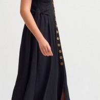 Женское платье Dilvin ME-101A09961_Siyah - платье на новый год