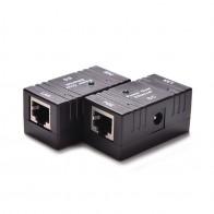 72.33 руб. 25% СКИДКА|1 шт. 10/100 Mbp пассивное питание через Ethernet DC мощность через Ethernet RJ 45 сплиттер адаптер для настенного крепления для ip камеры LAN сети on Aliexpress.com | Alibaba Group