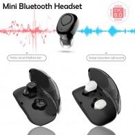 Спортивные наушники Беспроводной мини наушники Bluetooth в ухо с зарядки окно для samsung Galaxy S9 S8 Примечание 8 C8 купить на AliExpress