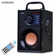 US $23.98 12% OFF|VAENSONG Big Power Bluetooth Speaker Subwoofer Wireless Portable Heavy Bass Stereo Speakers Music Player LCD Display FM Radio TF-in Portable Speakers from Consumer Electronics on Aliexpress.com | Alibaba Group