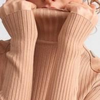 Женское платье Dilvin ME-101A02558_Camel - платье на новый год