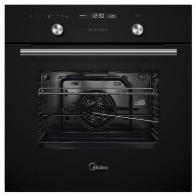 Купить Духовой шкаф MIDEA MO 78100 C GB,  черный в интернет-магазине СИТИЛИНК, цена на Духовой шкаф MIDEA MO 78100 C GB,  черный (1207783) - Москва