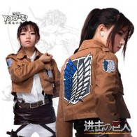 US $8.64 17% OFF|Attack on Titan Jacket Shingeki no Kyojin jacket Legion Cosplay Costume Jacket Coat Any Size High Quality Eren Levi on Aliexpress.com | Alibaba Group