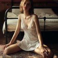 Lace Sexy Night Gown Women Sleepwear Set Thin Beauty Back Temptation Ice Silk Strap Nightdress Home Sleepshirts Sleep Dress