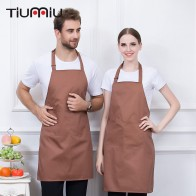 US $7.89 29% OFF|Hanging Neck Apron 5 Color High Quality Wholesale Kitchen Hotel Coffee Shop Bakery Chef Waiter Work Wear Strap Adjustable Aprons-in Aprons from Novelty & Special Use on Aliexpress.com | Alibaba Group