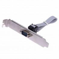 79.4 руб. 26% СКИДКА|Высокая качественная материнская плата RS232 DB9 Pin Com Порты и разъёмы ленты последовательный кабель Разъем Кронштейн купить на AliExpress