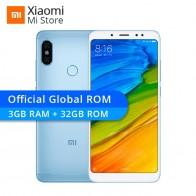 9222.7 руб. |Оригинальный Xiaomi Redmi Note 5 3 ГБ 32 ГБ телефон Snapdragon 636 5,99