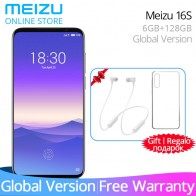 27442.7 руб. |Предпродажа глобальной версии Meizu 16s 6 GB 128 GB 16 Смартфон Snapdragon 855 Восьмиядерный 6,15