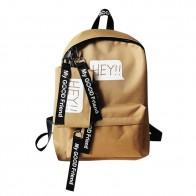 313.65 руб. 10% СКИДКА|2 шт./компл. женский рюкзак школьный рюкзак школьные сумки рюкзак для подростков девочек Студенческая сумка холщовые рюкзаки 2019 # YL5-in Рюкзаки from Багаж и сумки on Aliexpress.com | Alibaba Group