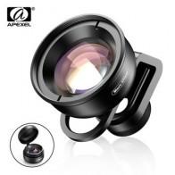 APEXEL 100 мм Супер Макро объектив камеры телефона HD оптический 10x макрообъектив Мобильная видеокамера для iPhone x xs Samsung всех смартфонов