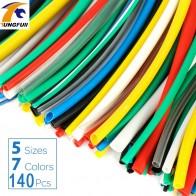 189.48 руб. 51% СКИДКА|140 шт. автомобильные электрические кабельные трубки наборы Термоусадочные трубки обертывание рукав Ассорти 7 цветов смешанные цвета трубки оплетка провода купить на AliExpress