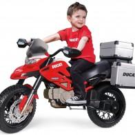 Детский электромотоцикл Peg Perego Ducati Enduro IGMC0023 - Детские электромобили