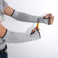 2458.91 руб. 6% СКИДКА|10 пар серая Защитная огранка термостойкие рукава Защита руки Защитная повязка на руку перчатки рабочие защитные перчатки-in Принадлежности для самообороны from Безопасность и защита on Aliexpress.com | Alibaba Group