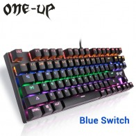 3526.67 руб. |ONE UP G300 87 Key Подсветкой Механическая Клавиатура купить на AliExpress