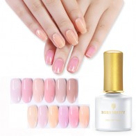 US $1.97 48% OFF|BORN PRETTY Semi transparent  Jelly Nail Gel 6ml Pink Yellow Purple UV Gel Soak Off Opal Jelly Gel Nail UV Gel Polish-in Nail Gel from Beauty & Health on Aliexpress.com | Alibaba Group