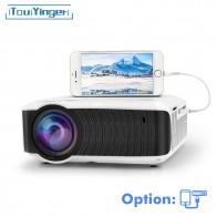 7065.16 руб. 28% СКИДКА|TouYinger T4 мини светодиодный проектор высокого разрешения 2400 люмен 720 p ЖК дисплей дома микро видео кинотеатр переносной Бимер USB HDMI SD VGA 3d проектор купить на AliExpress