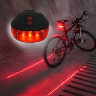 US $1.36 5% OFF|WasaFire Bicycle LED Taillight Safety Warning Light 5 LED+2 Laser Night Mountain Bike Rear Light Tail Light Lamp Bycicle Light-in Bicycle Light from Sports & Entertainment on Aliexpress.com | Alibaba Group