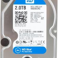 Купить Жесткий диск WD Blue WD20EZRZ в интернет-магазине СИТИЛИНК, цена на Жесткий диск WD Blue WD20EZRZ (318866) - Москва