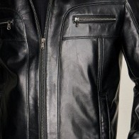 Мужская кожаная куртка Derimod ME-5638087481 - Мужские кожаные куртки