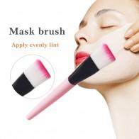 Бесплатная доставка лица кисть для маски уход за лицом Макияж инструмент грязевая маска аппликатор кисточки с ручка из прозрачной пластмассы уход за кожей купить на AliExpress
