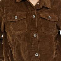 Женская джинсовая куртка Vintage Denim ME-489-R5-S - Яркие джинсовые куртки