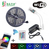 US $15.05 30% OFF 5M 2835 RGB WIFI LED Strip light Waterproof RGB 10M 15M led ribbon tape with Wireless WIFI Controller 12V power adapter Kit-in LED Strips from Lights & Lighting on Aliexpress.com   Alibaba Group