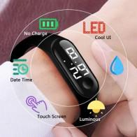 Детские часы CAINUOS, детские часы, браслет для девочек и мальчиков, спортивные цифровые часы relogio hombre, светодиодные цифровые часы для детей, сту...