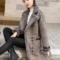 3851.51 руб. |Высокое качество Брендовое элегантное клетчатое шерстяное пальто на весну зиму пальто женское лоскутное покрытое теплое шерстяное пальто-in Шерсть и сочетания from Женская одежда on Aliexpress.com | Alibaba Group