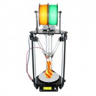 US $201.49 19% OFF|Geeetech 3D Printer Dual Heads Rostock Mini G2S Delta Auto Leveling Kits Upgraded All Metal High Resolution Impressora-in 3D Printers from Computer & Office on Aliexpress.com | Alibaba Group