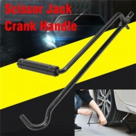 Car Foldable Hand Jack Rocker Folding Handle Scissor Jack Rocker General Jacks Car Tools Scissor Jack Handle Portable Car Repair