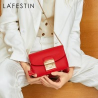 US $36.52 49% OFF|LAFESTIN Famous Shoulder Bag Women Designer Real Leather Flap Crossbody Bag Luxury Totes Multifunction brands Bag bolsa-in Shoulder Bags from Luggage & Bags on Aliexpress.com | Alibaba Group