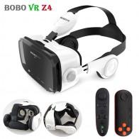 1373.38 руб. 27% СКИДКА|Оригинальный BOBOVR Z4 кожа 3D картонный шлем виртуальной реальности VR очки гарнитура Stereo Box BOBO VR для 4 6