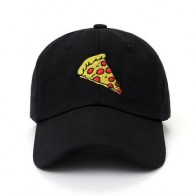 Бейсболка с вышивкой пиццы, Бейсболка унисекс для мужчин и женщин, Регулируемая Кепка для папы, 2017 - Шапки, кепки, шляпы