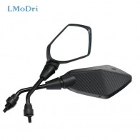 US $10.68 39% OFF|LMoDri 2Pcs/Pair Motorcycle Mirror Scooter E Bike Rearview Mirrors Electrombile Back Side Convex Mirror 8mm 10mm Carbon Fiber-in Side Mirrors & Accessories from Automobiles & Motorcycles on Aliexpress.com | Alibaba Group