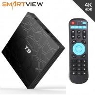 2954.61 руб. 33% СКИДКА|Android 8,1 Smart ТВ коробка VONTAR T9 4 Гб Оперативная память 32 ГБ/64 ГБ Встроенная память Rockchip RK3328 H.265 4 K дополнительно 2,4G/5 ГГц двойной WI FI ТВ коробка pk Ми S X96 купить на AliExpress