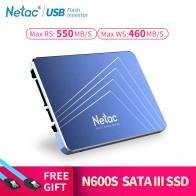 R$ 69.38 34% de desconto|Netac N500S SSD 240 GB 2.5